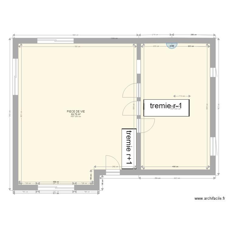 rdc pour euromac2 plan 5 pi ces 300 m2 dessin par djguzzler. Black Bedroom Furniture Sets. Home Design Ideas