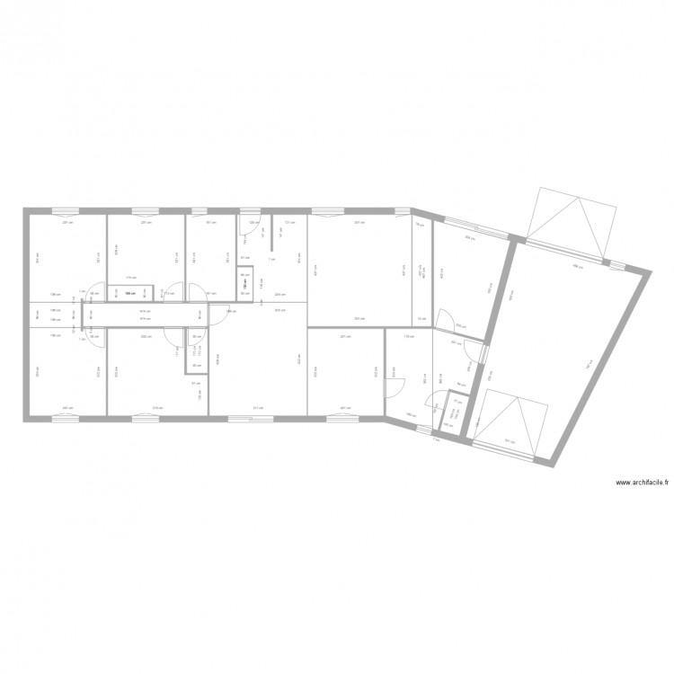 Plan1 plan 19 pi ces 162 m2 dessin par lusson77 for 162 plan