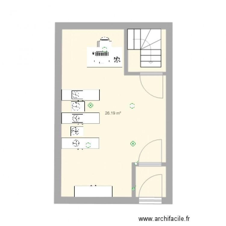 datacenter cryptobreizh plan 1 pi ce 26 m2 dessin par sebastienj. Black Bedroom Furniture Sets. Home Design Ideas