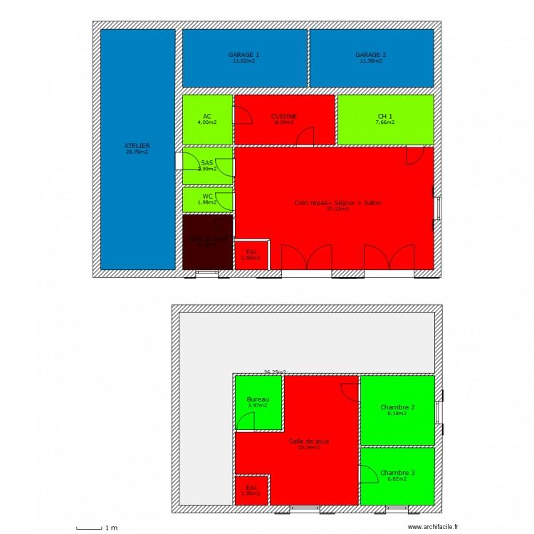 Maison bioclimatique rez de chauss et tage plan 17 - Chausse et vous ...