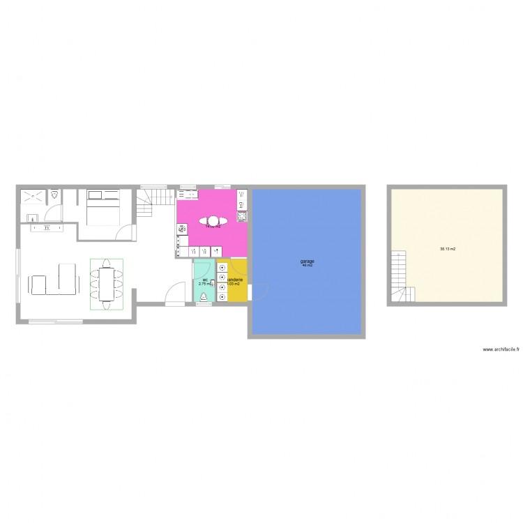 Plan Maison En Longueur Exemple De Plan De Maison En Longueur Plan
