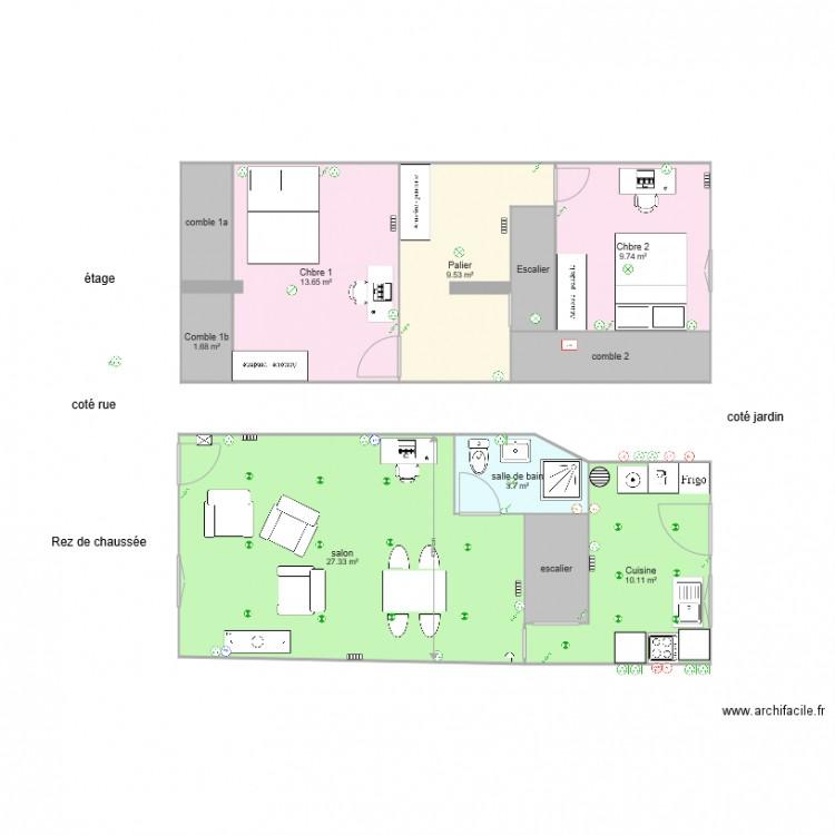 maison 2 plan lectrique plan 11 pi ces 86 m2 dessin par collaborateursimmo. Black Bedroom Furniture Sets. Home Design Ideas