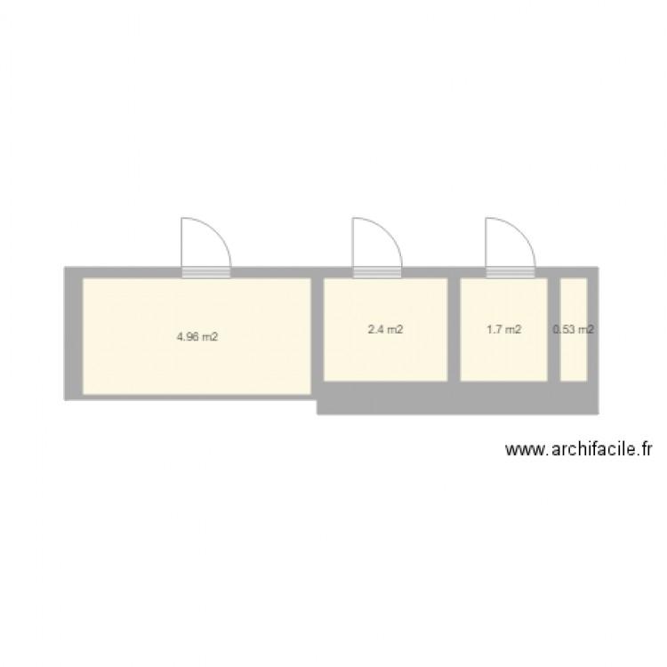 Salle de bains plan 4 pi ces 10 m2 dessin par serioje for Salle de bain 4 m2