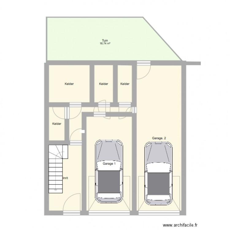 Qqq plan 9 pi ces 74 m2 dessin par mehmet22 for Piscine b24