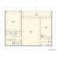 PLAN APPARTEMENT ANNE MARIE