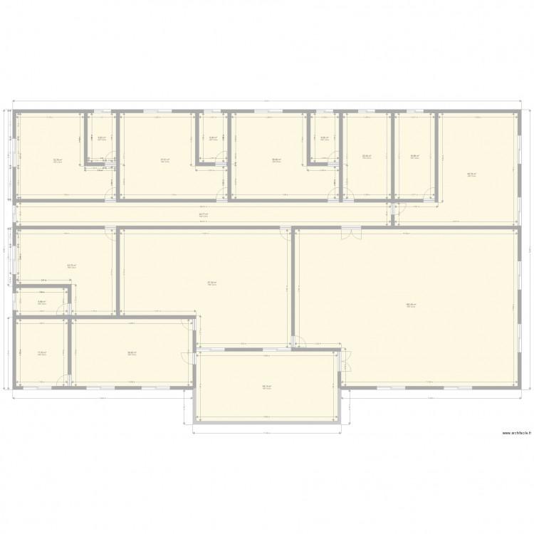 Plan de ma maison plan 17 pi ces 653 m2 dessin par for Plan de ma maison