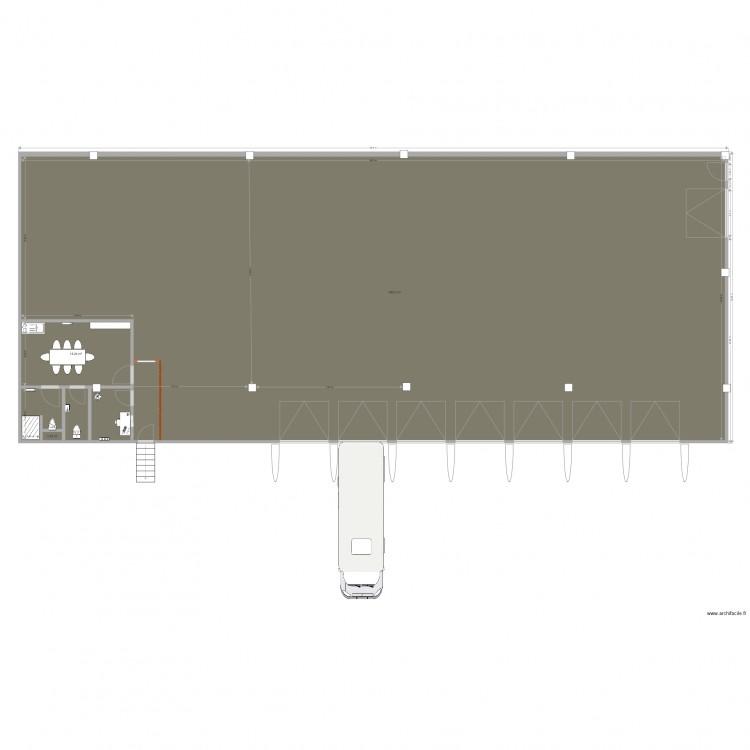 Projet seb 1 plan 6 pi ces 521 m2 dessin par 071089aa for 521 plan