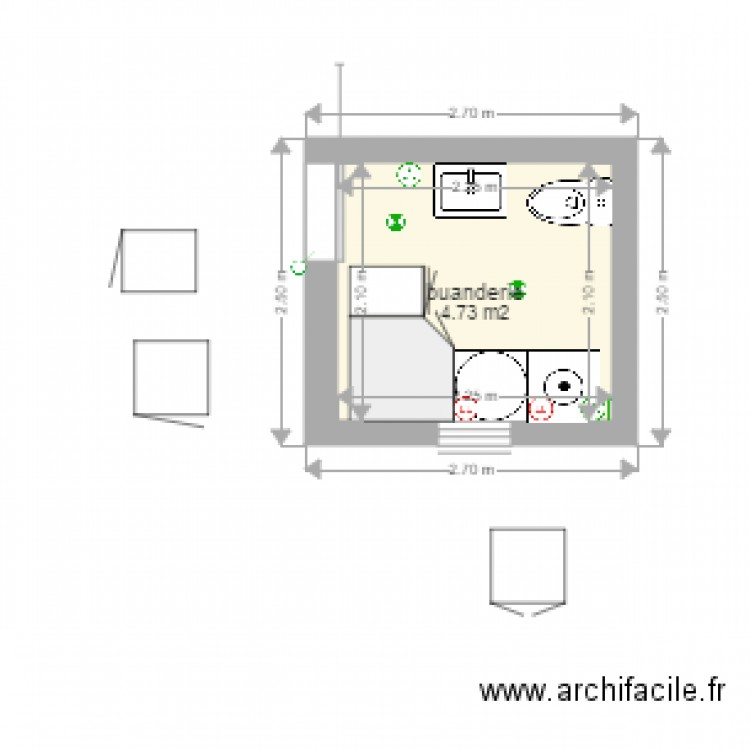 Bic Floor Plan: Plan Buanderie. Plan Image Used When Printing With Plan