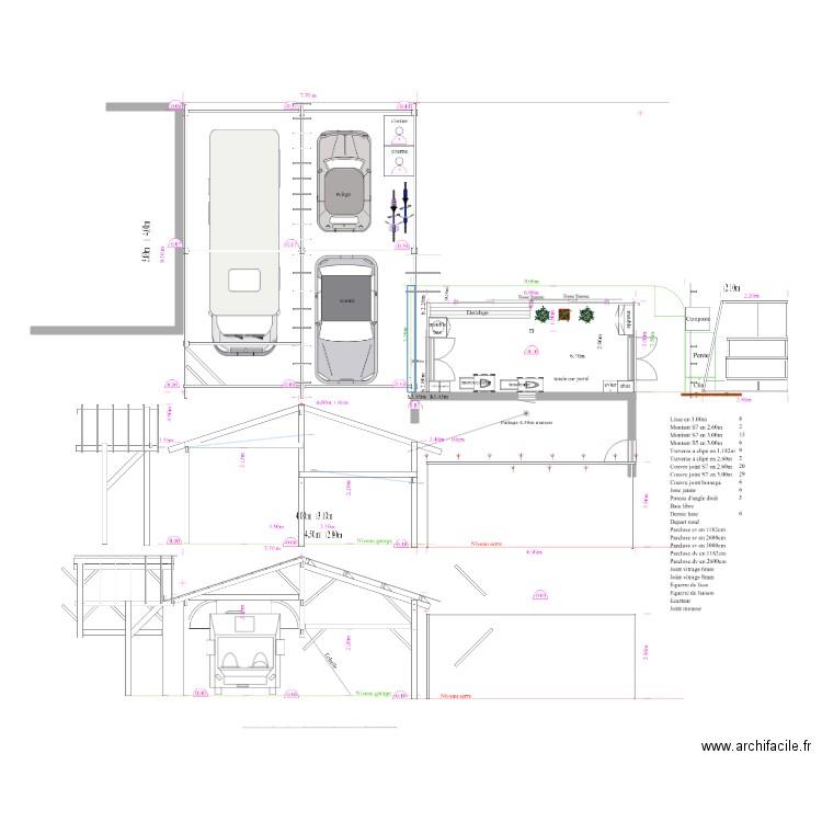 Plan de masse 3 plan dessin par jp47 - Dessiner un plan de masse ...