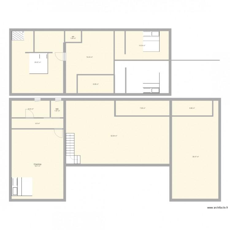 Ma maison plan 13 pi ces 220 m2 dessin par tony33 for Dessine ma maison gratuitement