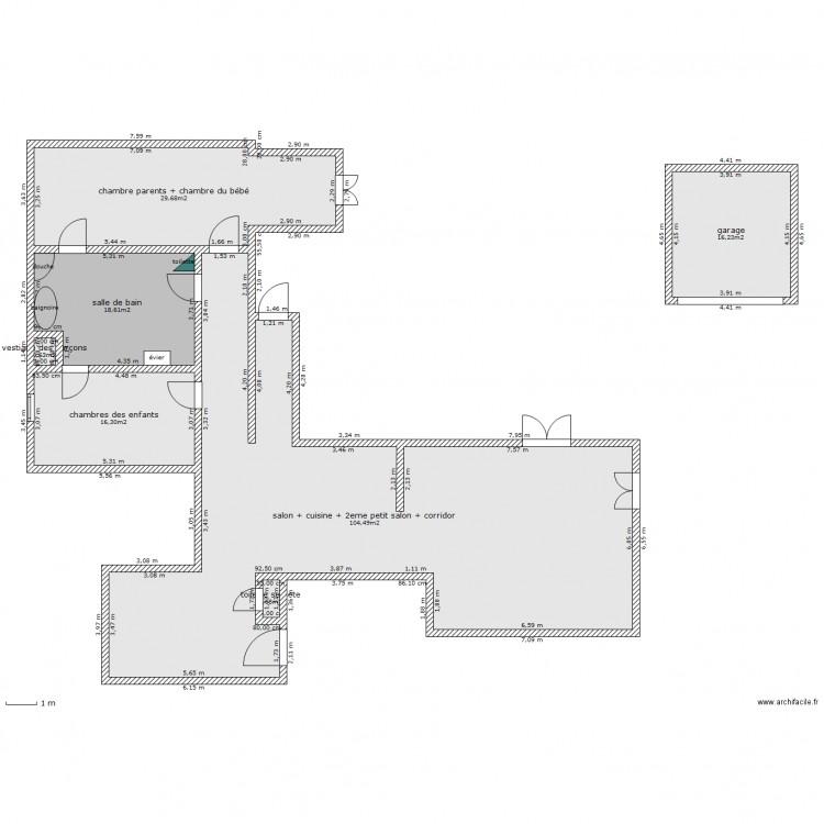 maison de la srie malcom 1er essaie plan de 7 pices et 187 m2 - Dessiner Son Plan De Maison