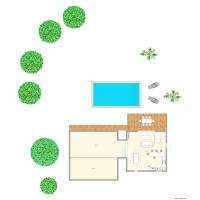 Projet garage pool house
