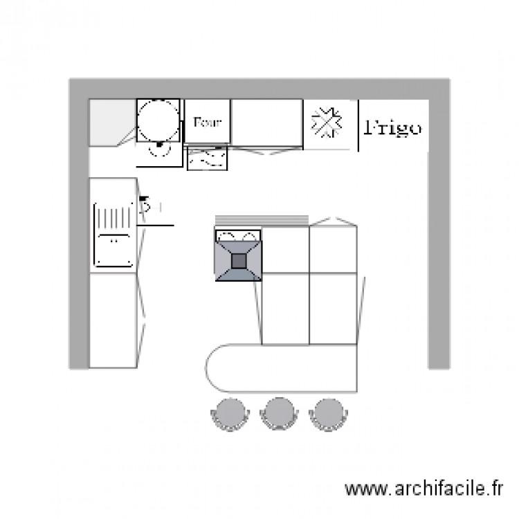 Ma cuisine isa plan dessin par chylaemar for Je dessine ma cuisine