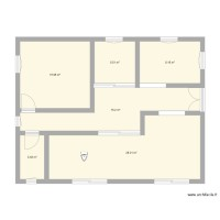 Plan 80m2 Alienor