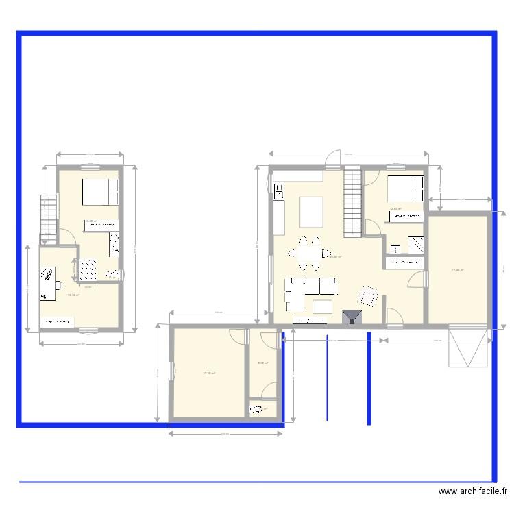 plan maison entr e nord respect plu plan 8 pi ces 132 m2. Black Bedroom Furniture Sets. Home Design Ideas