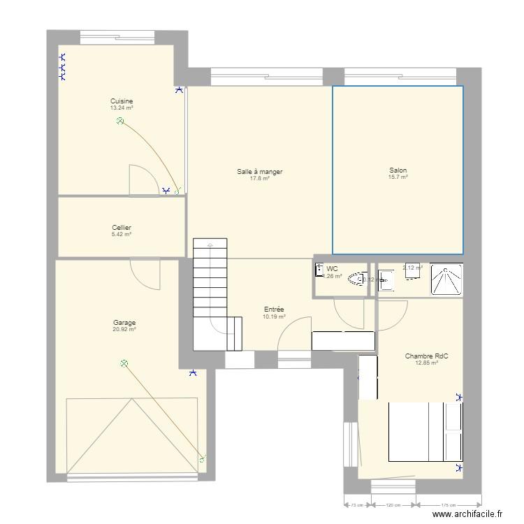 Ma Maison Cubique V2 Plan 10 Pieces 100 M2 Dessine Par Trach59