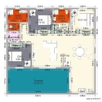 Plan de safutofohina for Plan maison type f4