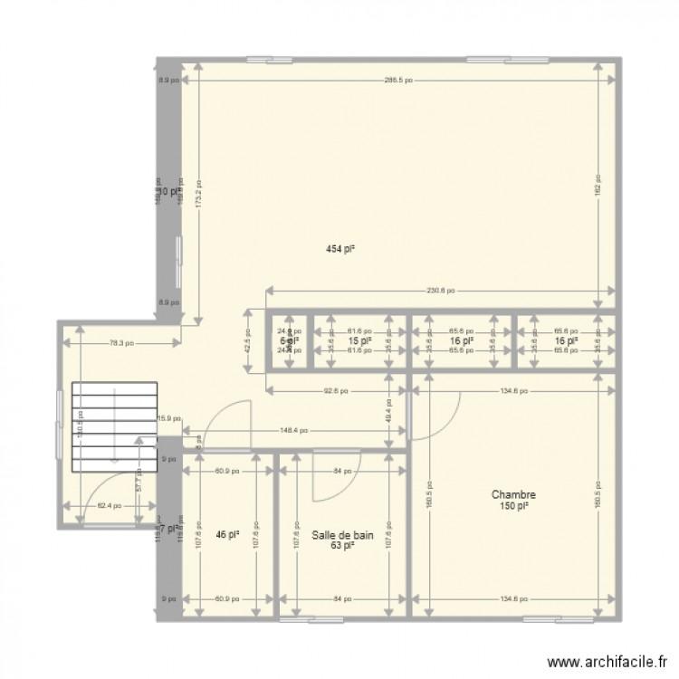 Mon appartement plan 10 pi ces 73 m2 dessin par plan de for Mon plan de maison parfait