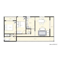 Plan appartement douala 2