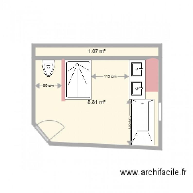 20161122 le corre plan 2 pi ces 10 m2 dessin par for Garage le corre ceret