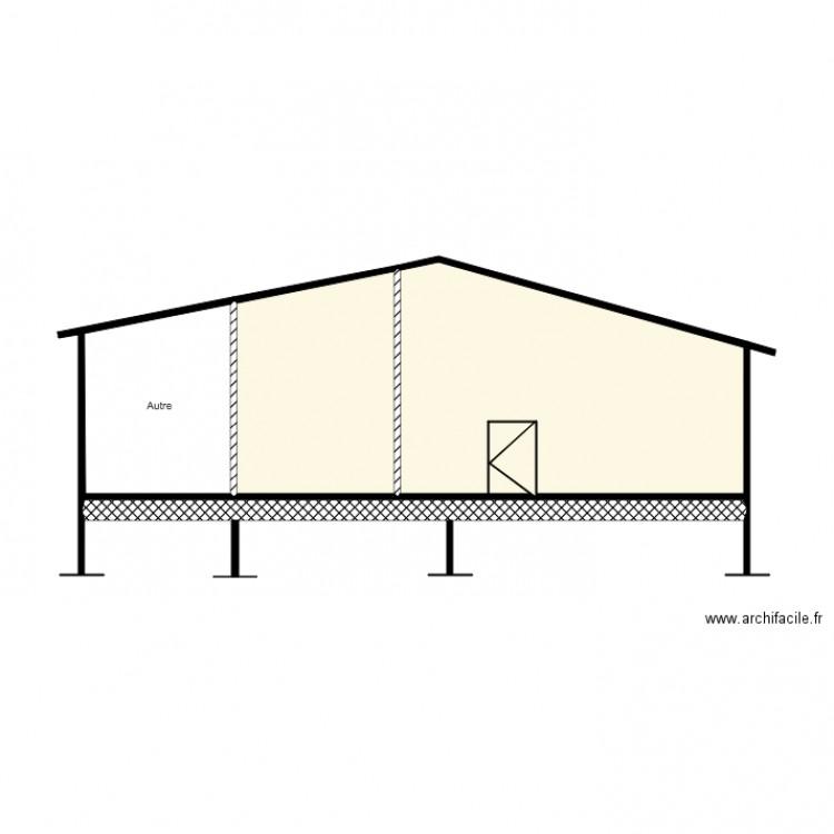Plan Coupe Maison: Plan 4 Pièces 36 M2 Dessiné