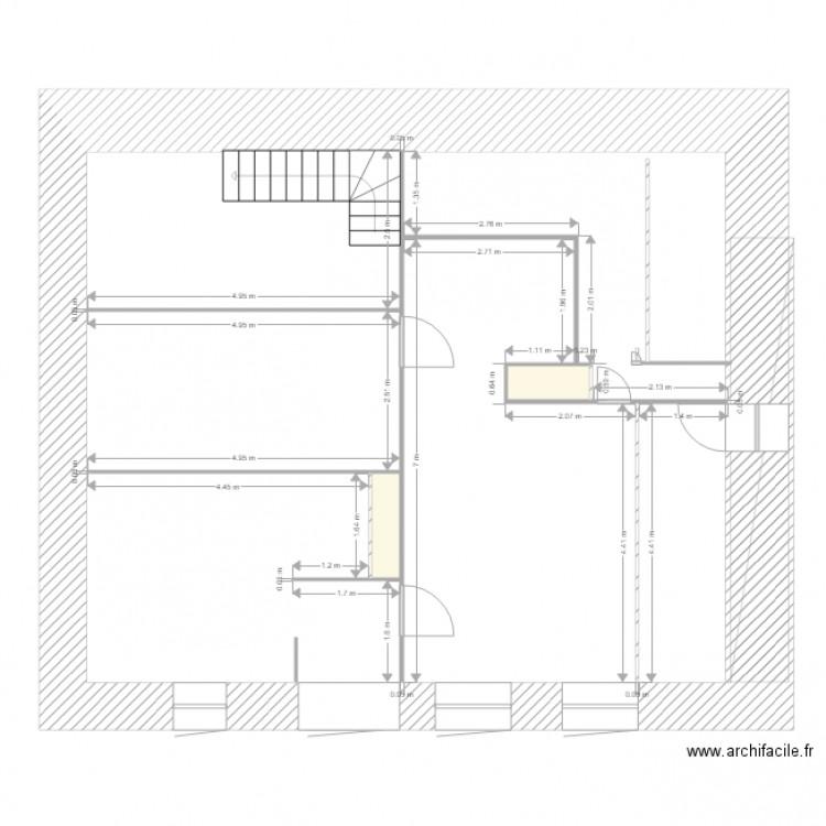 2017 lallier carr plan 2 pi ces 1 m2 dessin par mac for Archifacile mac