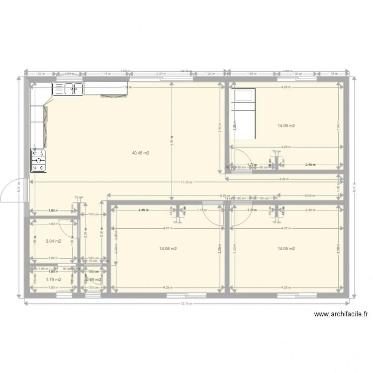 plan de maison type f4