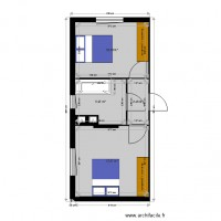 plan chambres et SDB