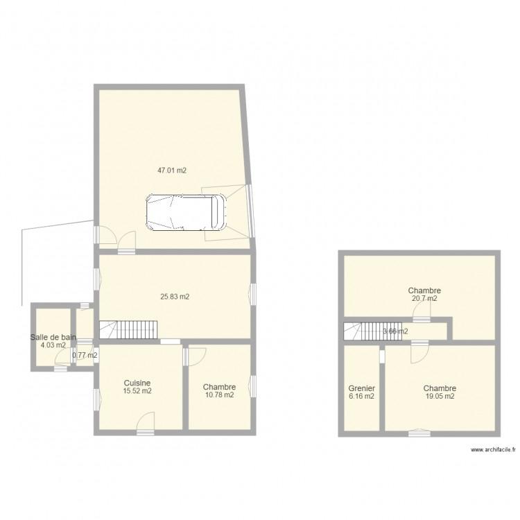 plan maison avec cotation plan de 10 pices et 154 m2