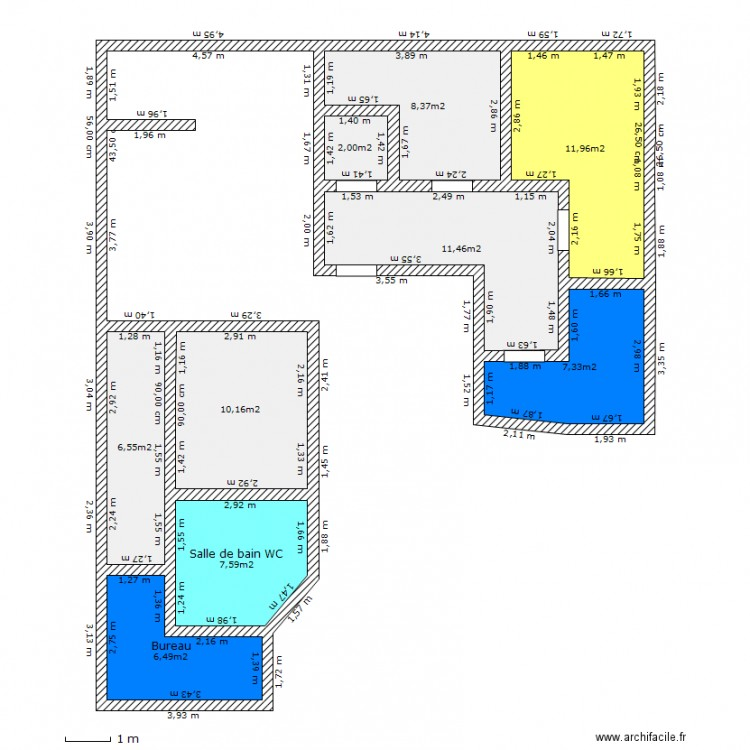 Maison container plan 9 pi ces 72 m2 dessin par buffalosev - Forum maison container ...