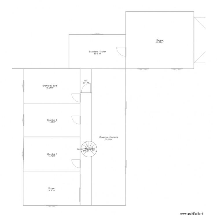 R nov tromarey plan 9 pi ces 151 m2 dessin par ludivine for Aide pour achat maison