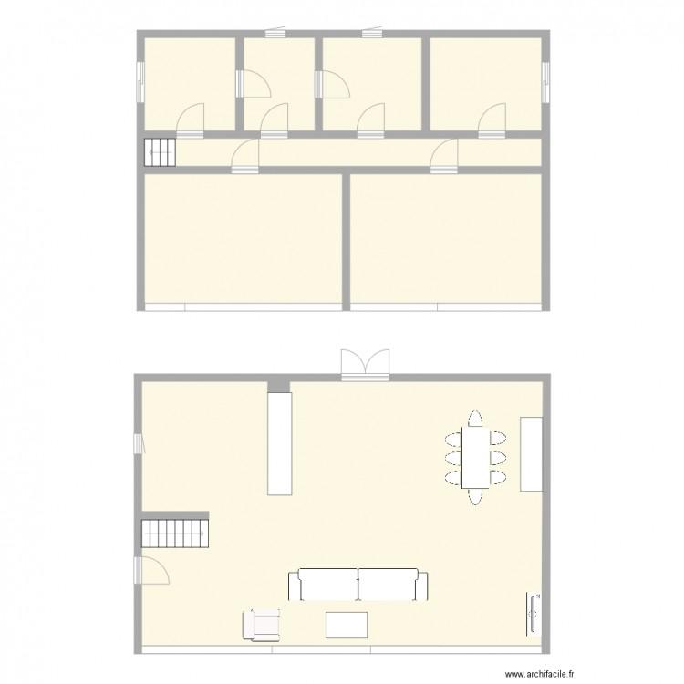 plan de maison 2 plan 8 pi ces 172 m2 dessin par mariam 8. Black Bedroom Furniture Sets. Home Design Ideas