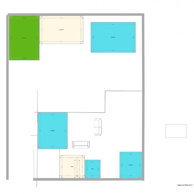 Vif implantation maison plan 7 pi ces 113 m2 dessin par for Plan implantation maison
