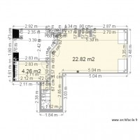 PLAN Vierge Appartement FOURMENT