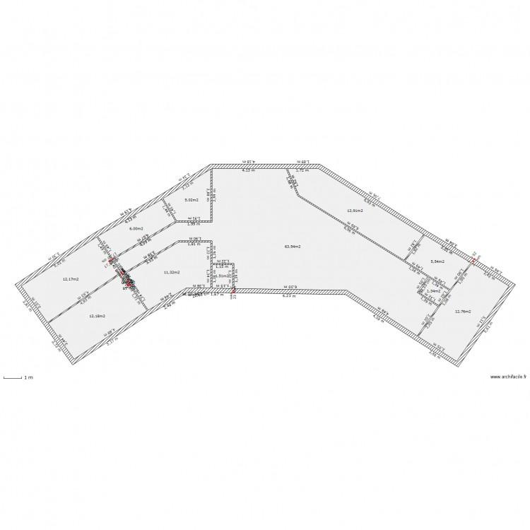 Maison en v plan 12 pi ces 145 m2 dessin par maison - Programme pour plan de maison ...