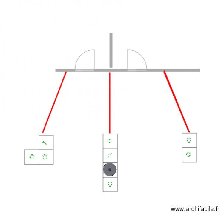 position interrupteurs mur palier 1 er plan dessin par danokido. Black Bedroom Furniture Sets. Home Design Ideas