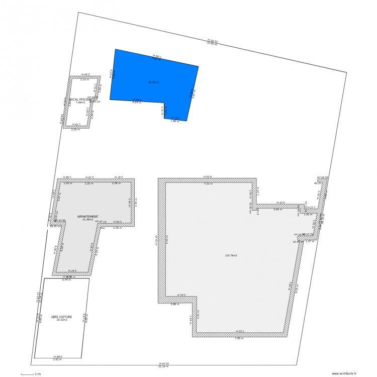 Plan De Masse Plan 5 Pi Ces 214 M2 Dessin Par Petitclos