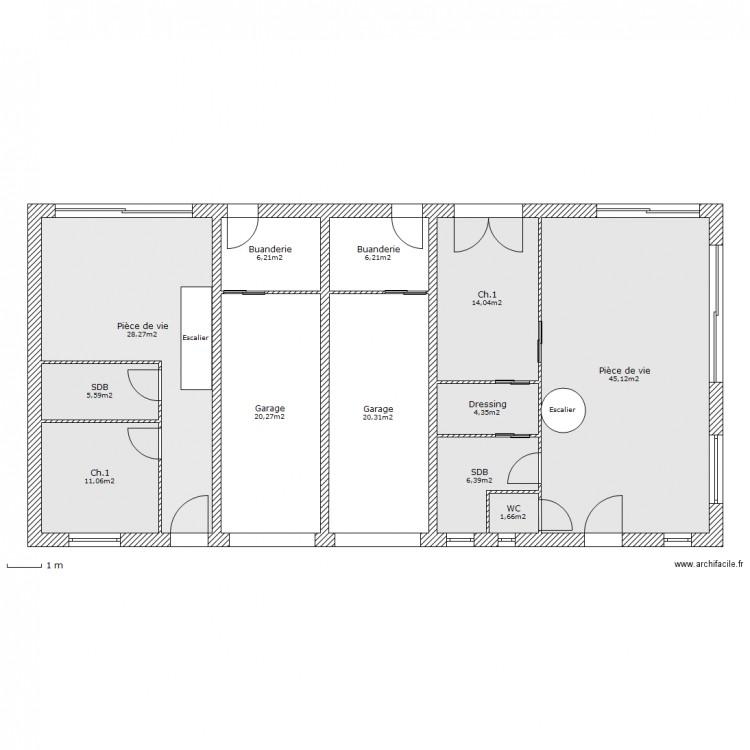 plan maison mitoyenne plan maison mitoyenne maison plan. Black Bedroom Furniture Sets. Home Design Ideas