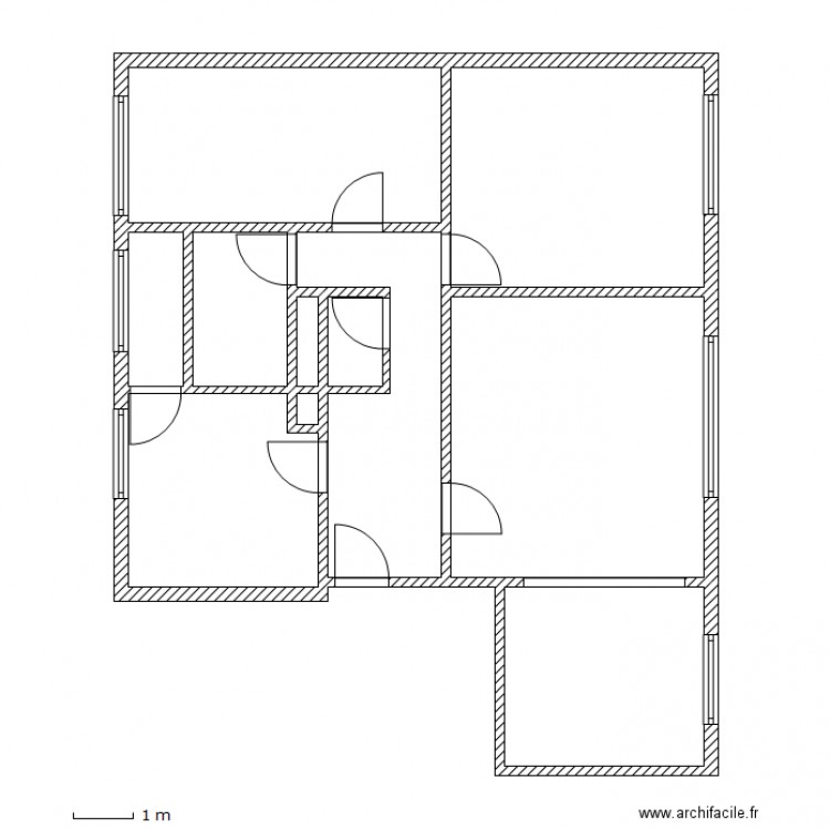 Gillmann lingolsheim plan 11 pi ces 87 m2 dessin par lcd 67 for Location garage lingolsheim