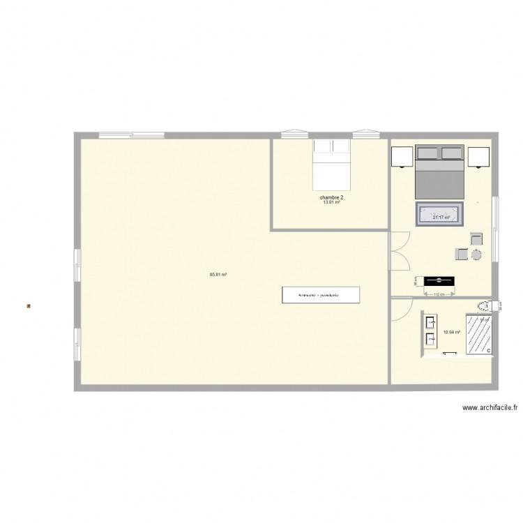 Ma maison plan 4 pi ces 132 m2 dessin par christopher john for Dessine ma maison gratuitement