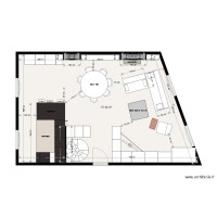 Plan appartement Julien GALLES implantation meubles