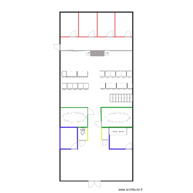 plan 2d museum plan 11 pi ces 79 m2 dessin par enymie. Black Bedroom Furniture Sets. Home Design Ideas