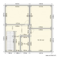 plan maison 4 appartements