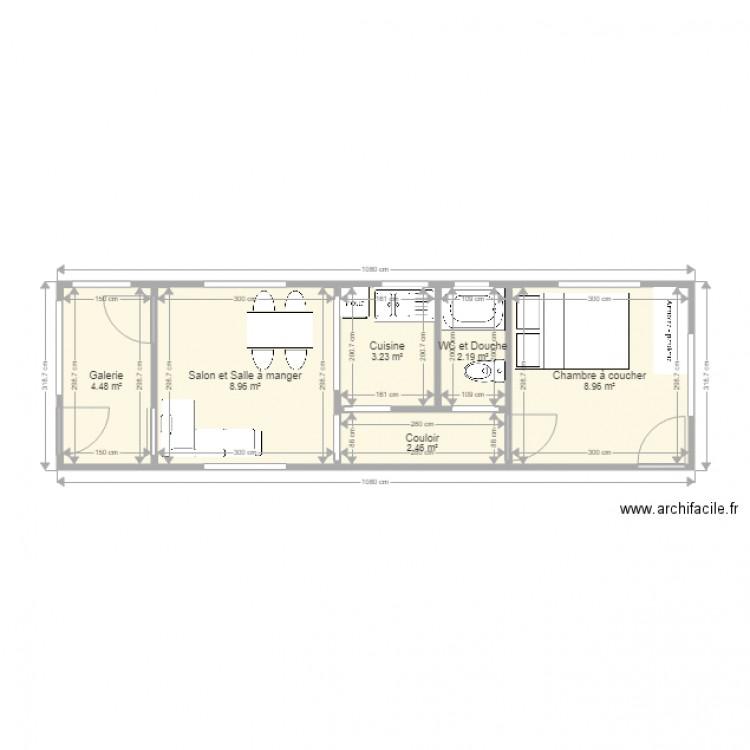 Ma maison plan 6 pi ces 30 m2 dessin par james19 for Dessine ma maison gratuitement
