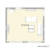 plan maison 56 m2