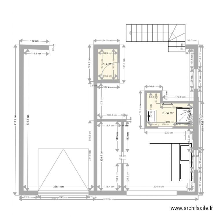 maison plan 2 pi ces 4 m2 dessin par hiltonlgason. Black Bedroom Furniture Sets. Home Design Ideas