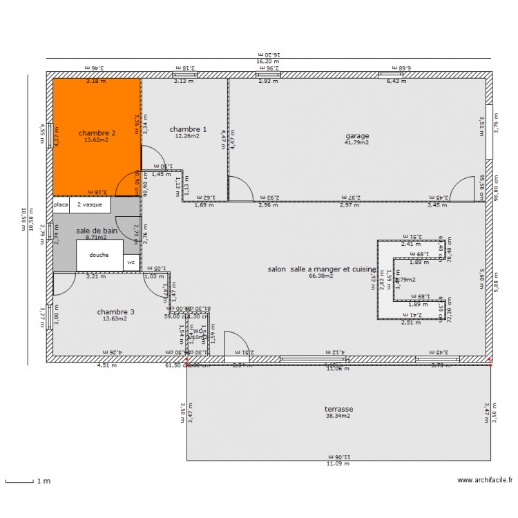 Plan de maison 974 for Construction maison 974