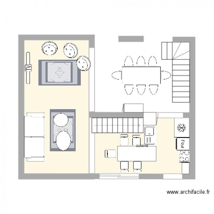 reflexion plan maison plan 2 pi ces 30 m2 dessin par deboaz. Black Bedroom Furniture Sets. Home Design Ideas