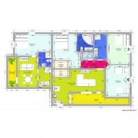 Plan maison et appartement de 15 pi ces de 130 150 m2 for Garage ad merignac