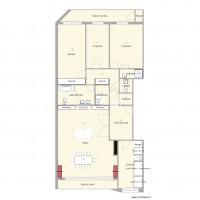 Plan maison et appartement de 16 pi ces de 130 150 m2 for Plan appartement 150 m2